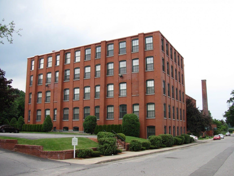 El edificio de la compañía Leominster Piano Case Leominster MA Estados Unidos