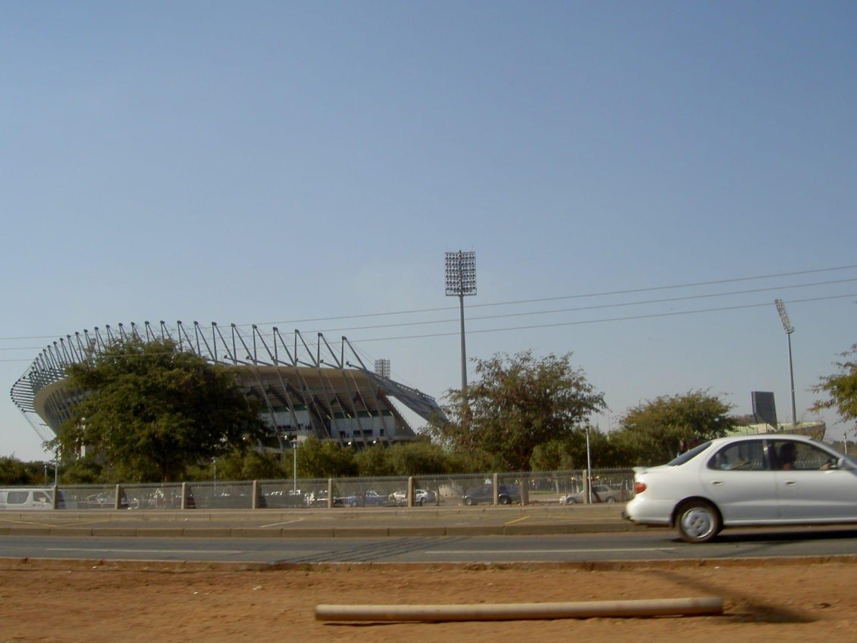 El Estadio Real Bafokeng. Rustenburg República de Sudáfrica