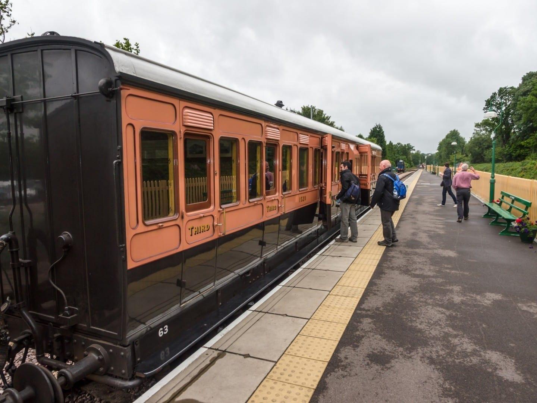 El ferrocarril de Bluebell East Grinstead Reino Unido