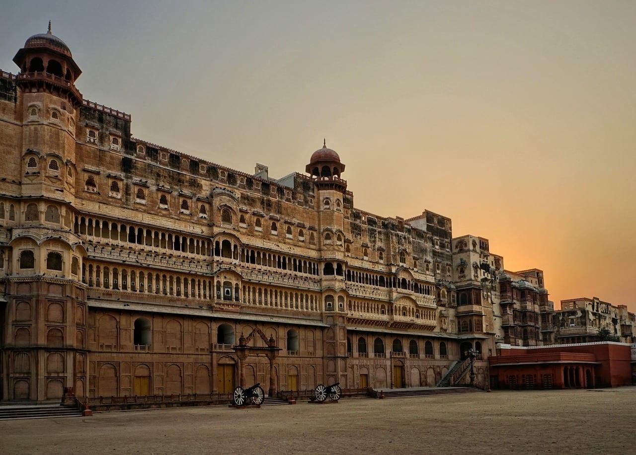 El Fuerte Junagarh Bikaner Arquitectura India