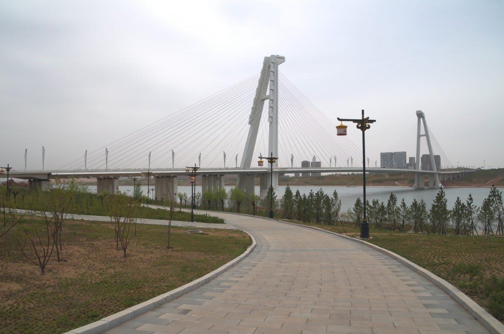 El Gran Puente Kang Bashi Ordos China
