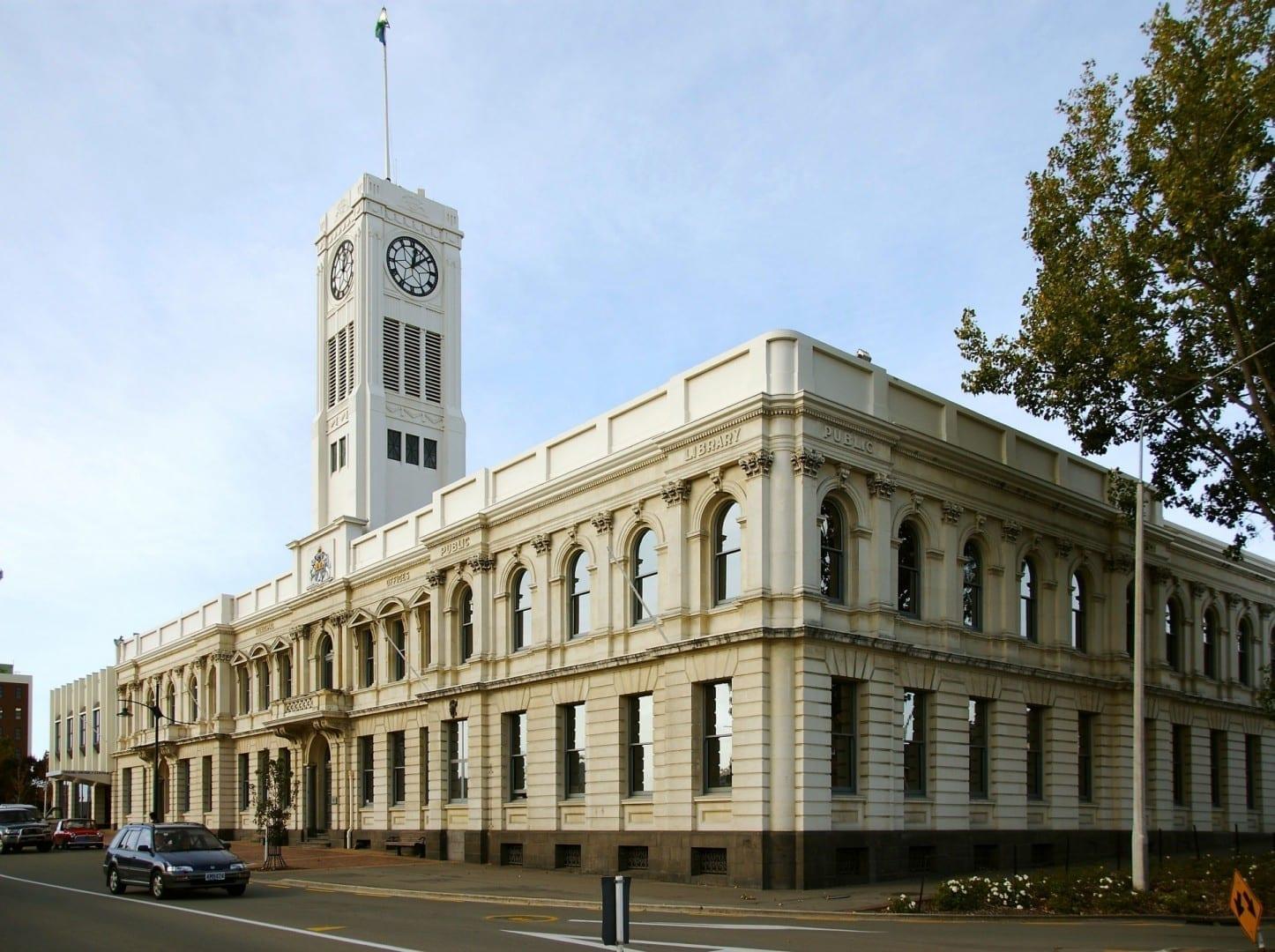 El histórico Timaru Timaru Nueva Zelanda