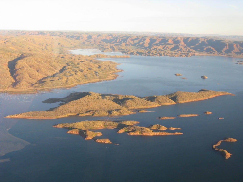 El lago Argyle Kununurra Australia