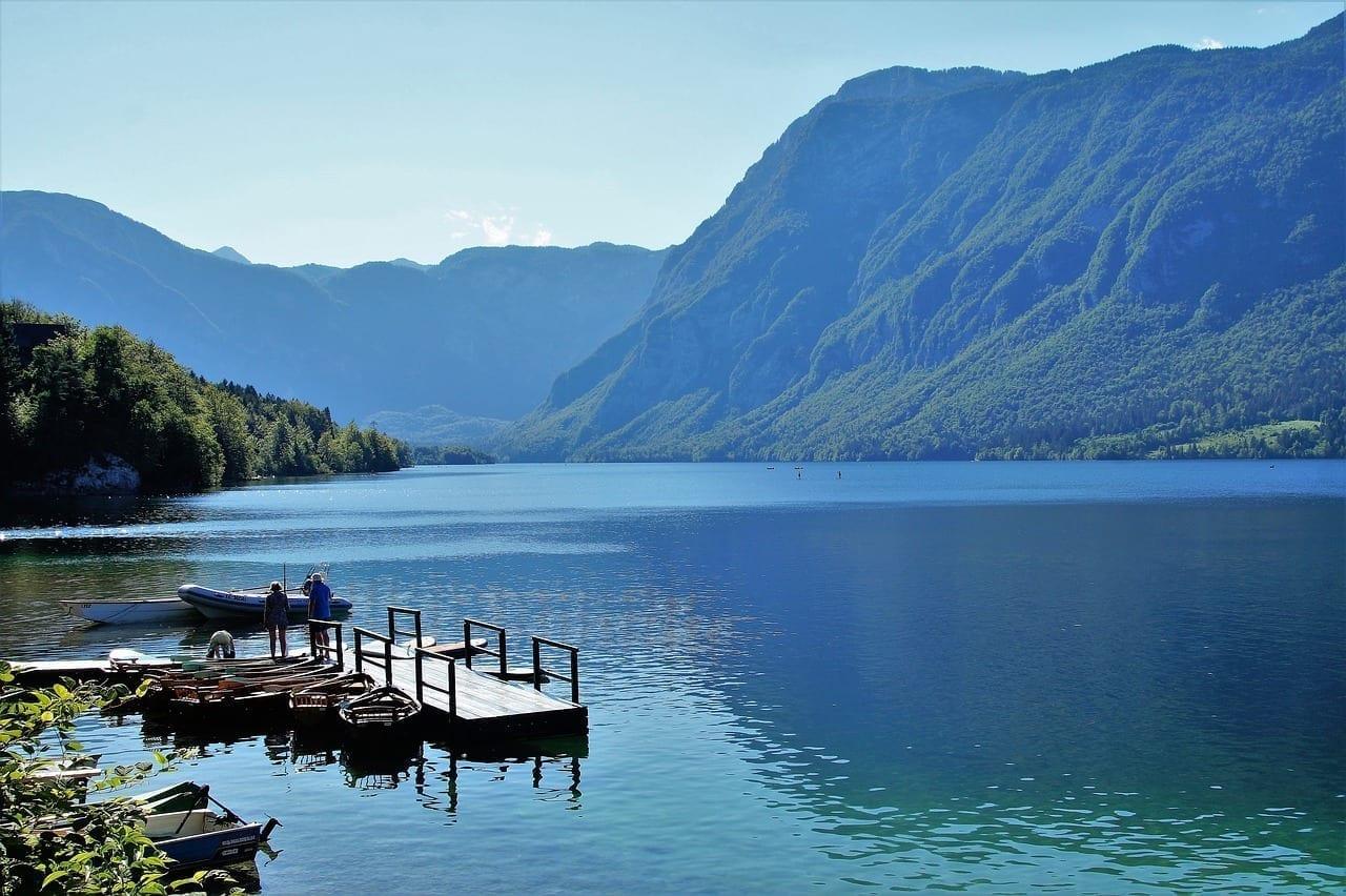 El Lago De Bohinj Bohinj Deportes Acuáticos Eslovenia
