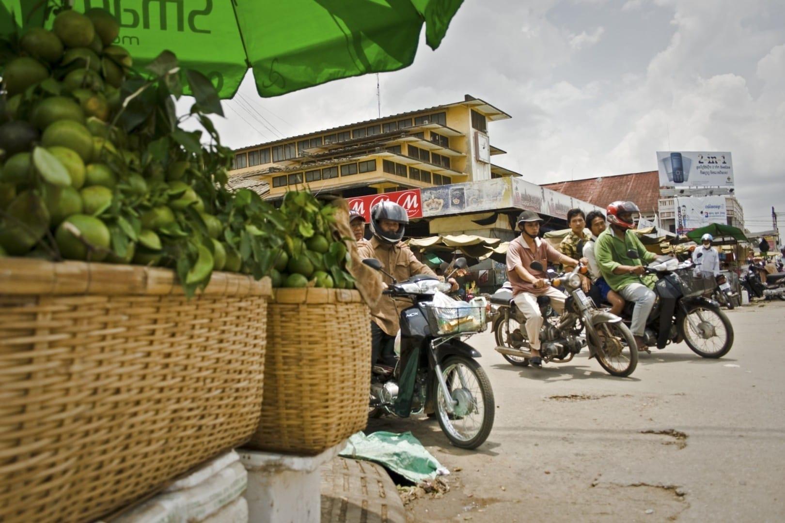 El mercado central de Battambang Battambang Camboya