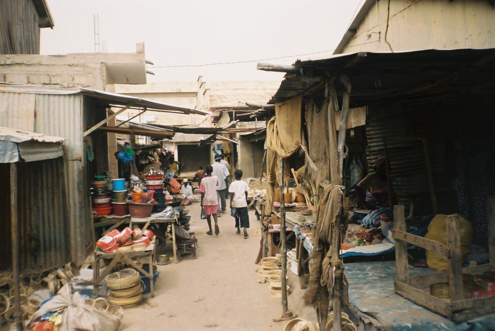 El mercado de Kaolack Kaolack Senegal