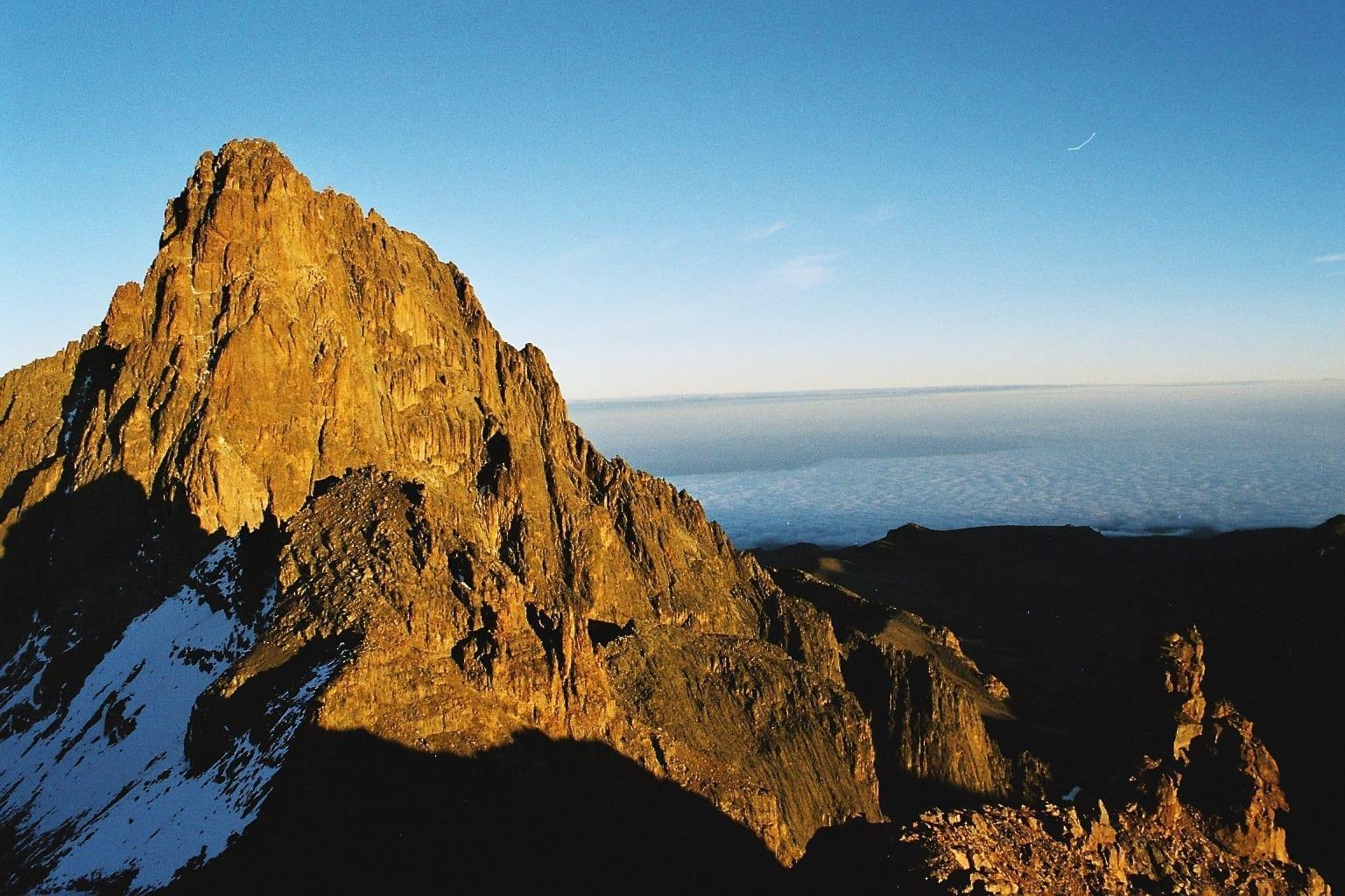 El Monte Kenya Parque Nacional del Monte Kenia Kenia