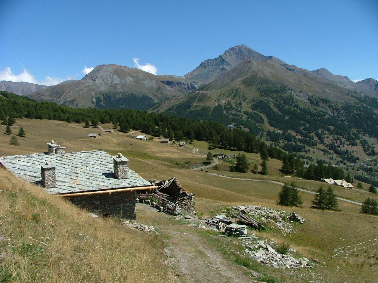El Monte Motta en Sestriere Sestriere Italia