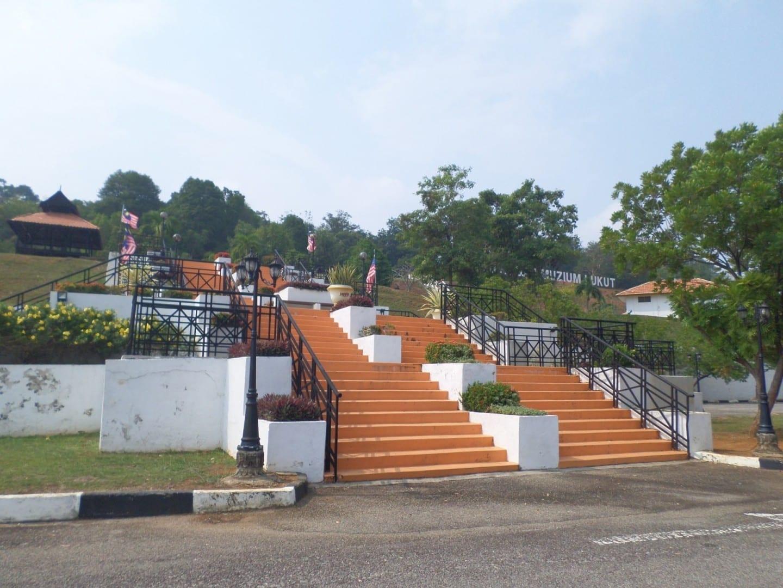 El Museo y el Fuerte Lukut Port Dickson Malasia