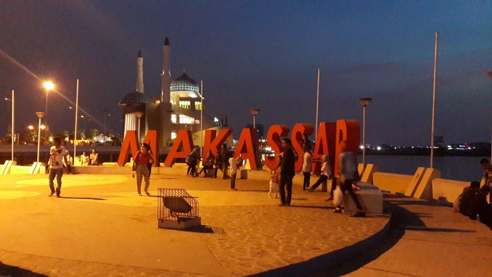 El paseo marítimo de Makassar Makassar Indonesia