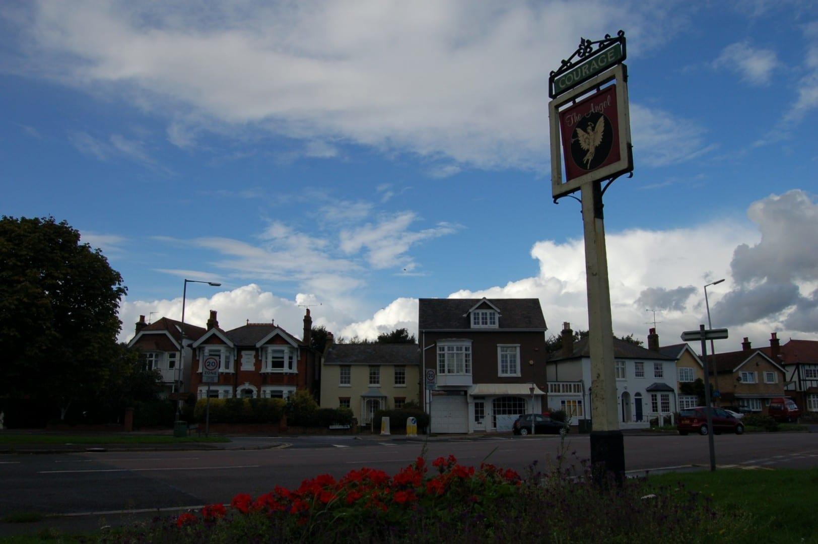 El pub Angel Kingston Upon Thames Reino Unido