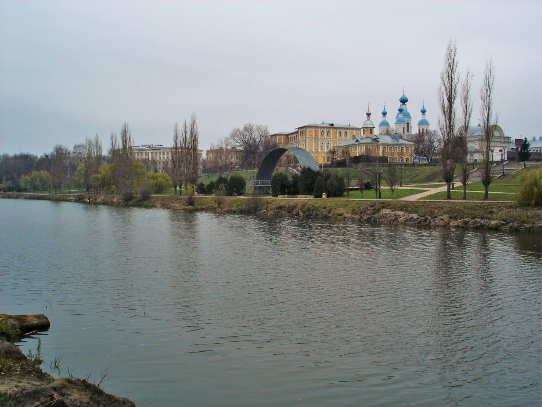 El río Tsna en Tambov Tambov Rusia