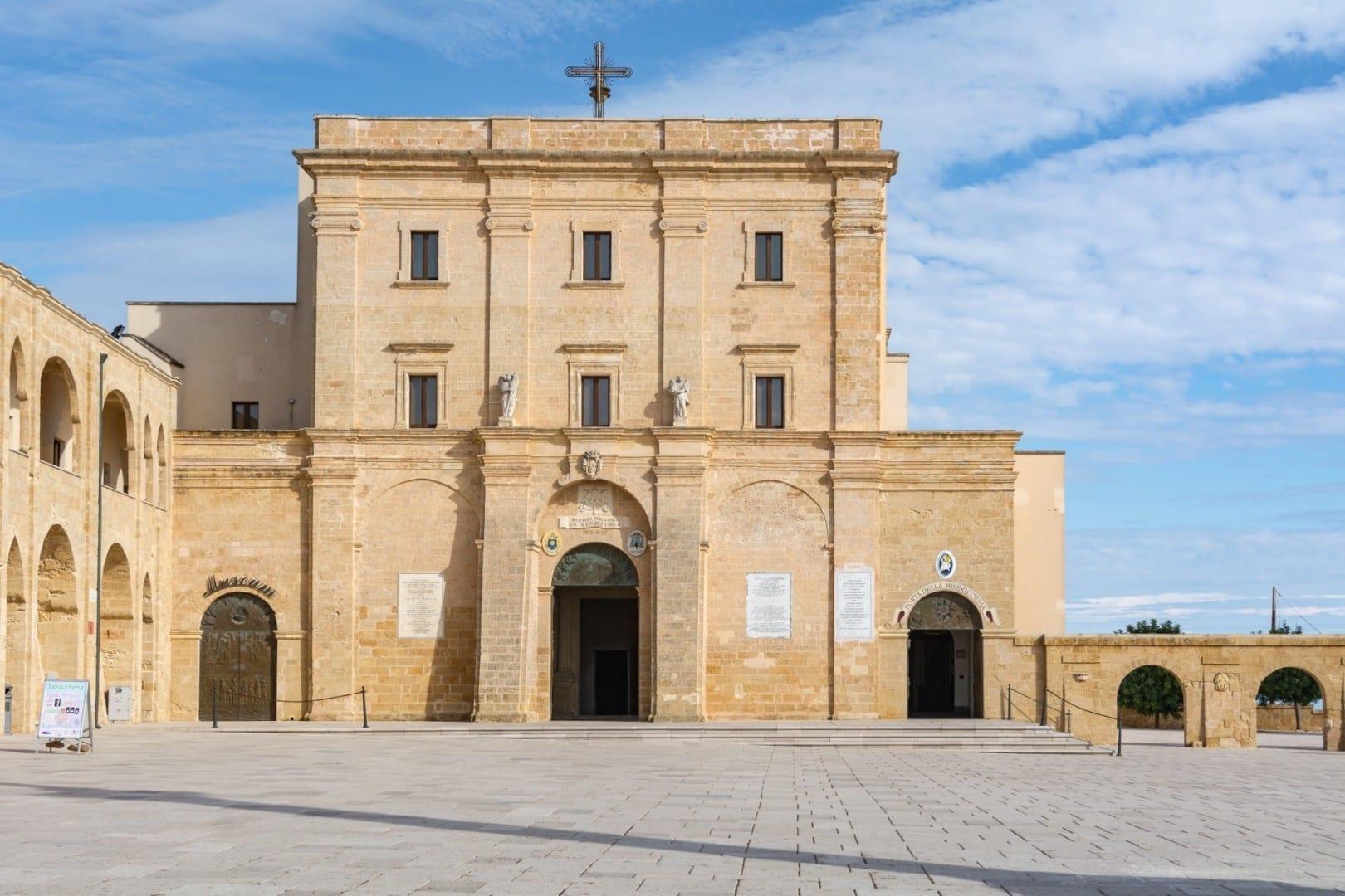 El Santuario de Santa María de Finibus Terrae Santa Maria di Leuca Italia
