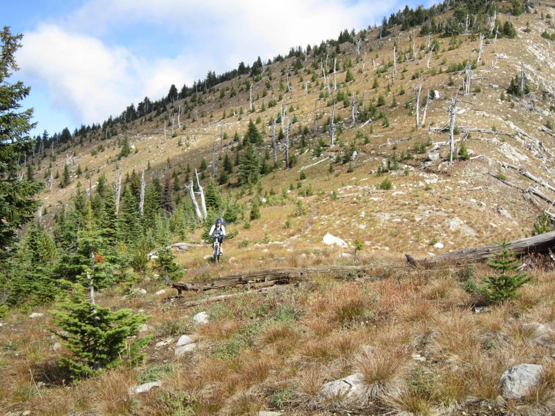 El sendero para bicicletas de montaña de las Siete Cumbres, Castlegar BC Castlegar Canadá