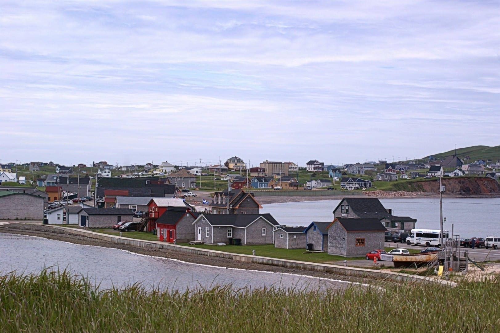 El sitio histórico de La Grave Islas de la Magdalena Canadá
