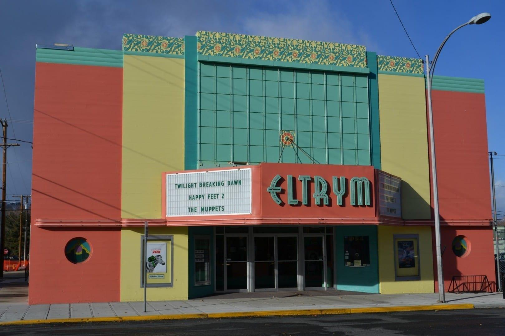 El Teatro Eltrym, uno de los muchos edificios históricos de Baker City Baker City Estados Unidos
