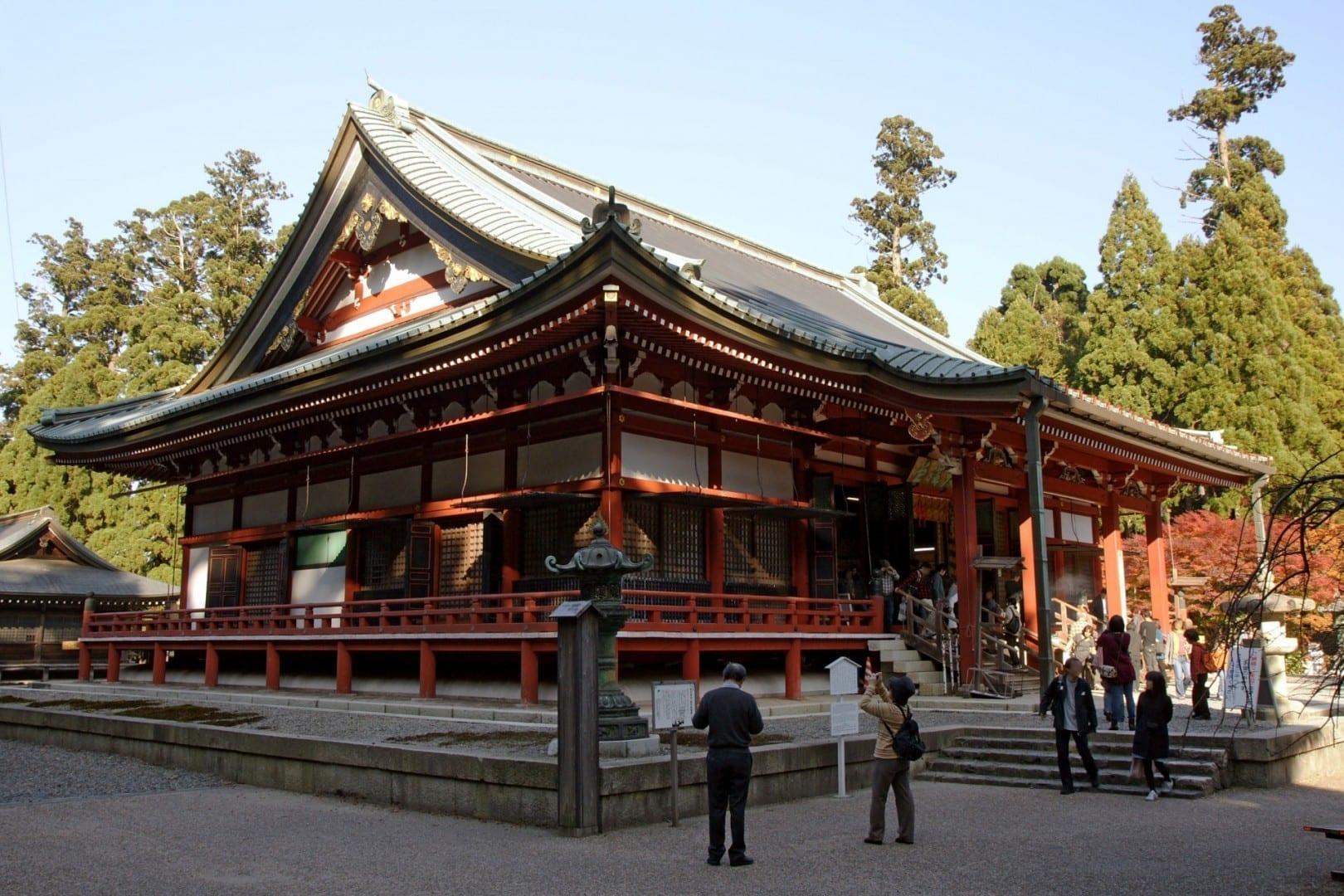 El templo budista Enryaku-ji Otsu Japón