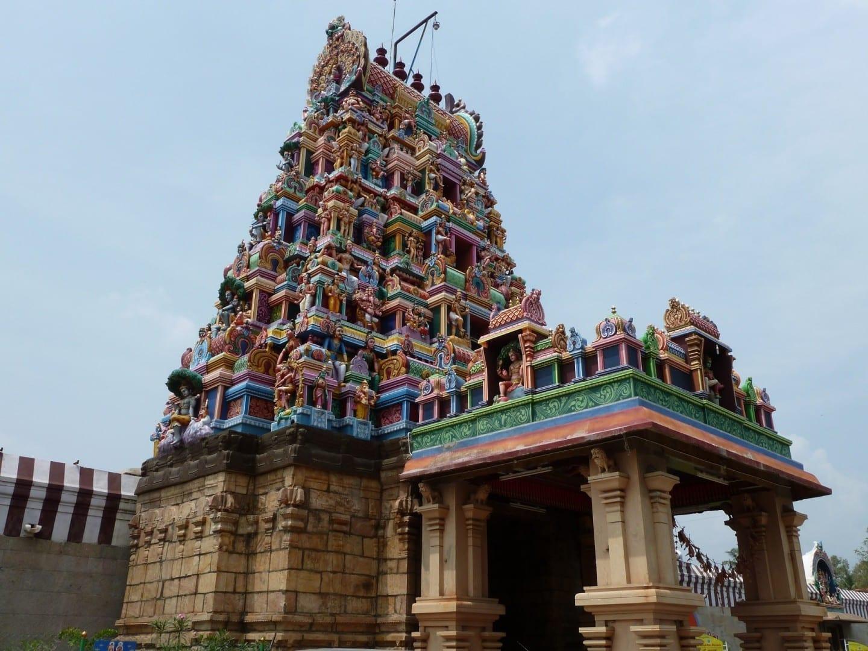 El Templo de Perur Godfatherwarar Coimbatore India