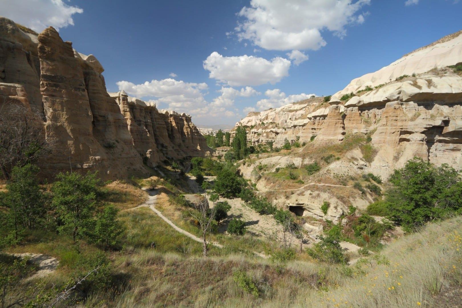 El Valle de las Palomas Uchisar Turquía