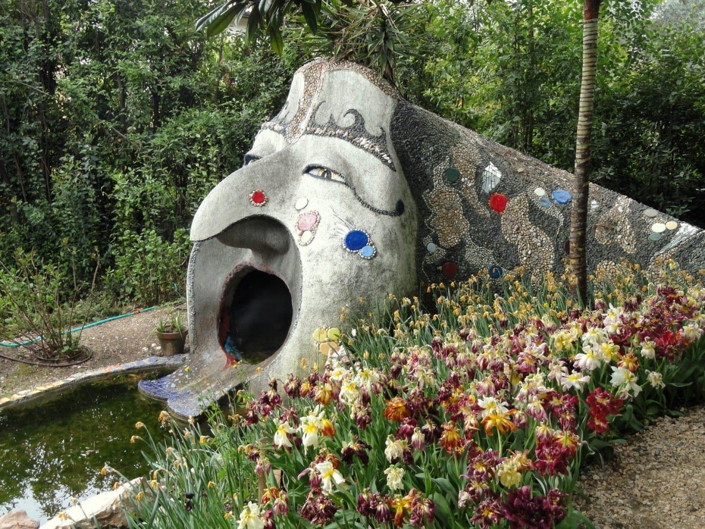 En el Jardín Botánico André Heller Gardone Riviera Italia