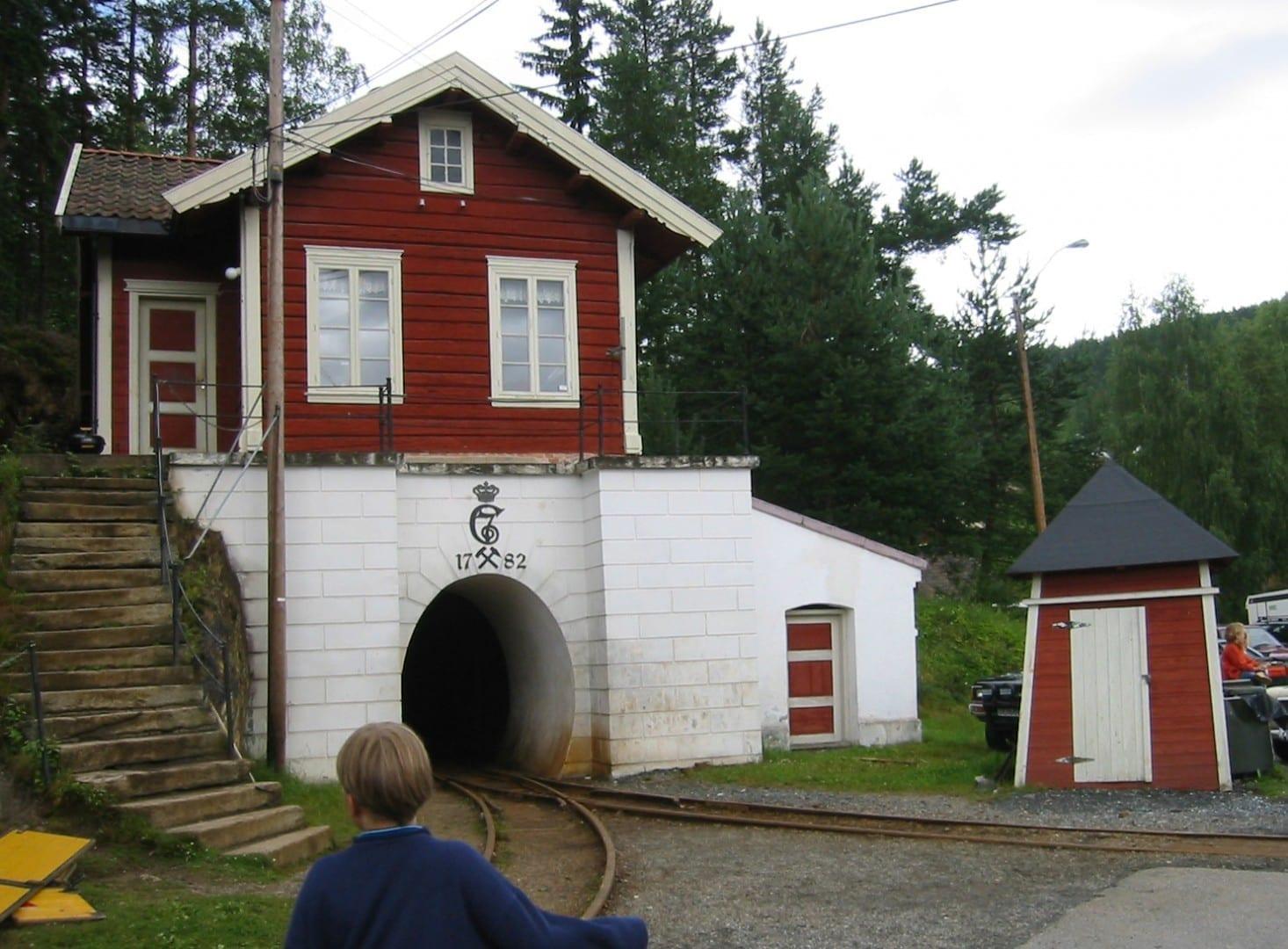 Entrada a las Minas de Plata. Kongsberg Noruega