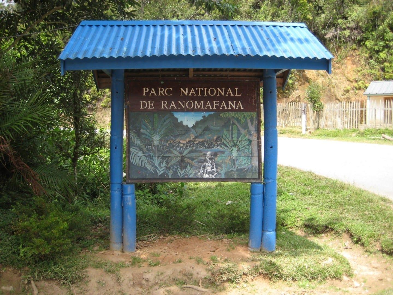 Entrada al parque Ranomafana Madagascar