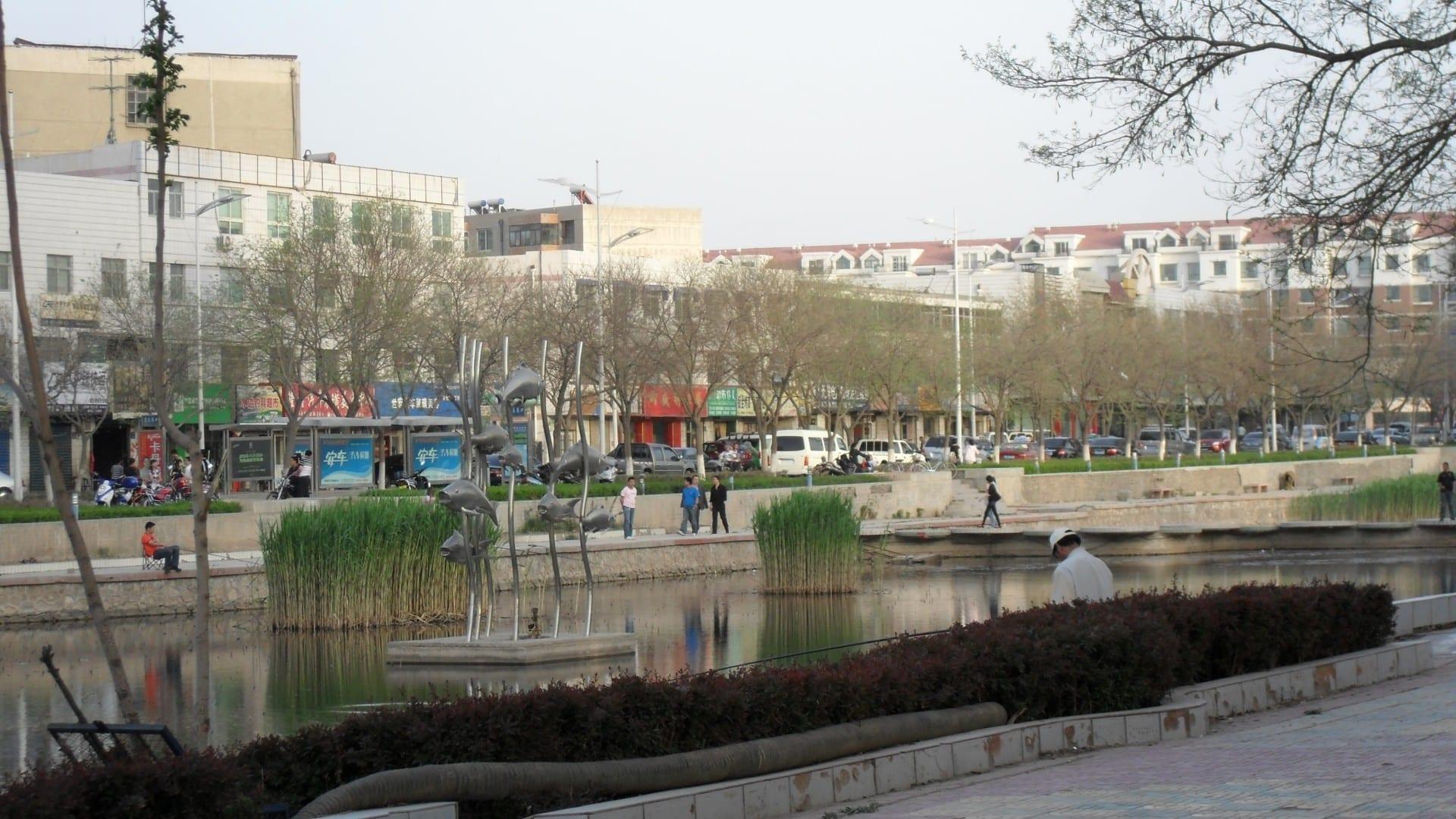 Escena callejera... Yinchuan China
