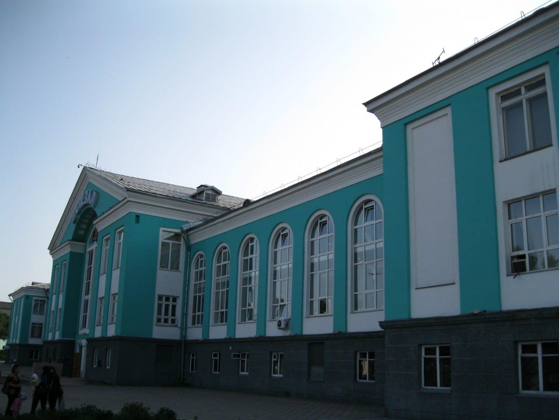Estación de ferrocarril de Kemerovo Kemerovo Rusia