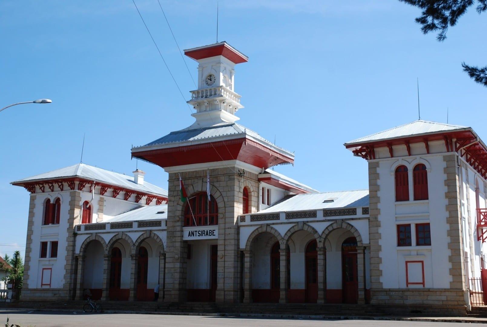 Estación de tren de Antsirabe Antsirabe Madagascar