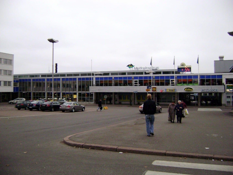 Estación de tren de Kouvola Kouvola Finlandia