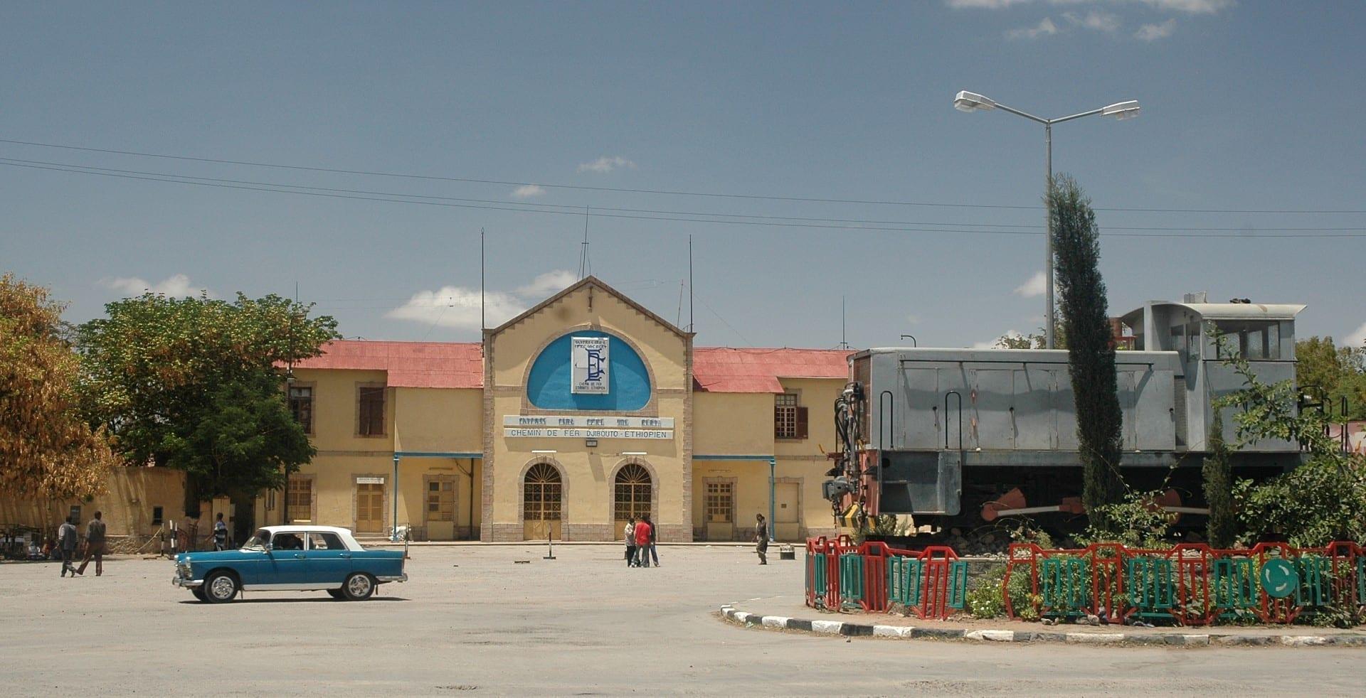 Estación Dire Dawa del Ferrocarril Djibouti-Etiopía. Dire Dawa Etiopía