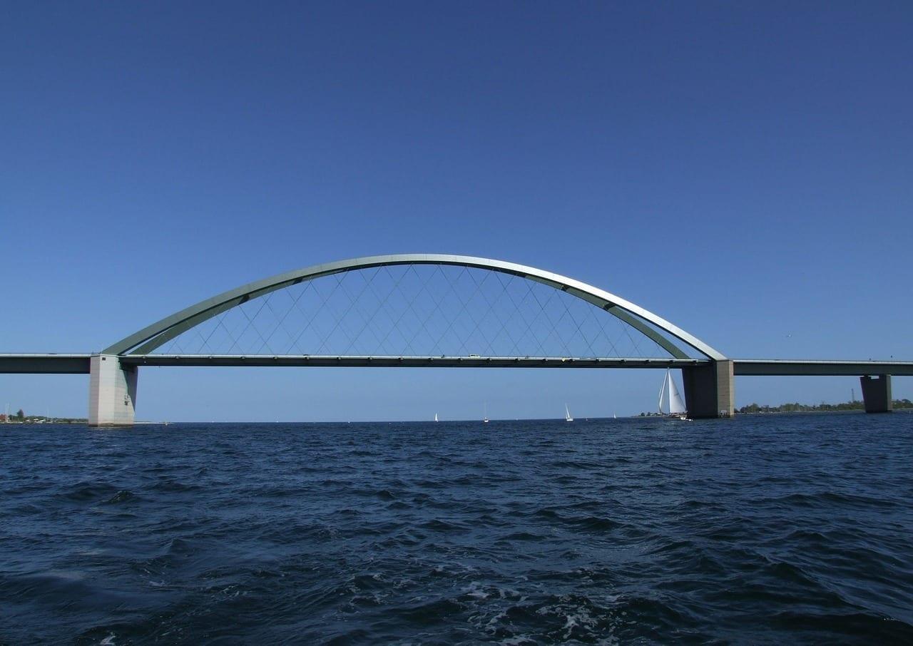 Fehmarn Mar Báltico Puente Alemania