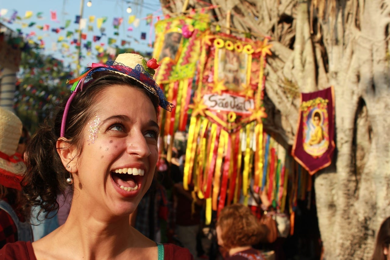 Festa Junina San Juan Celebración Argentina