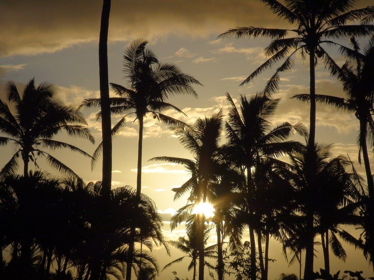 Fiji Cielo Nubes Fiyi