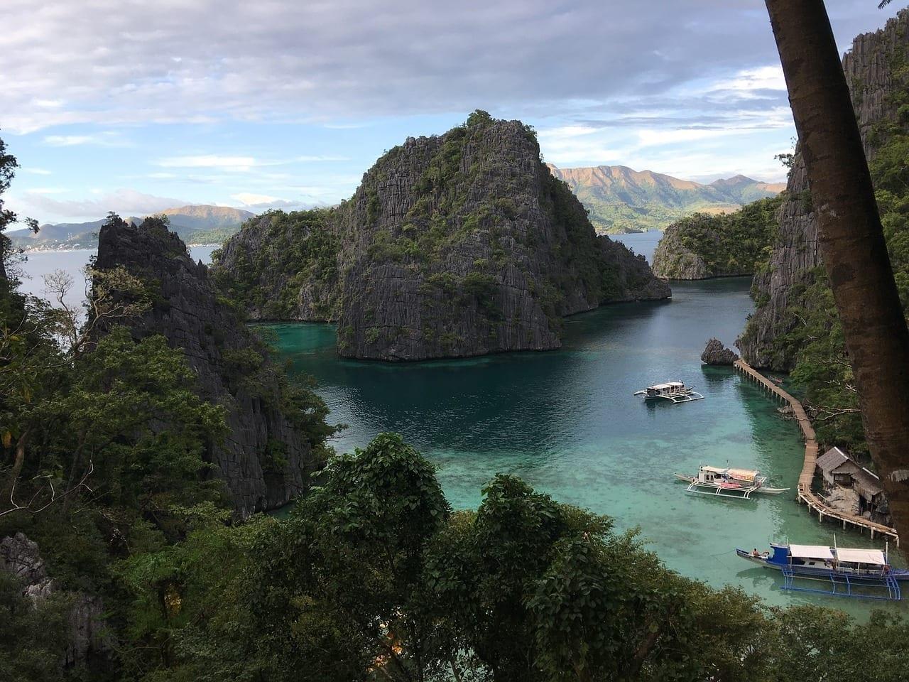 Filipinas Palawan Laguna Filipinas