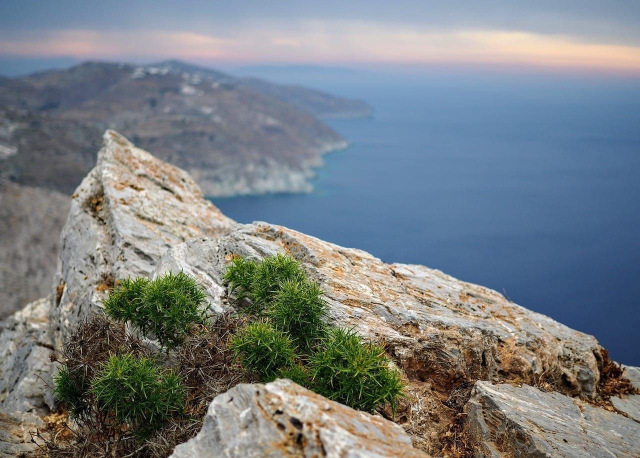 Folegandros Cyclades Mediterráneo Grecia