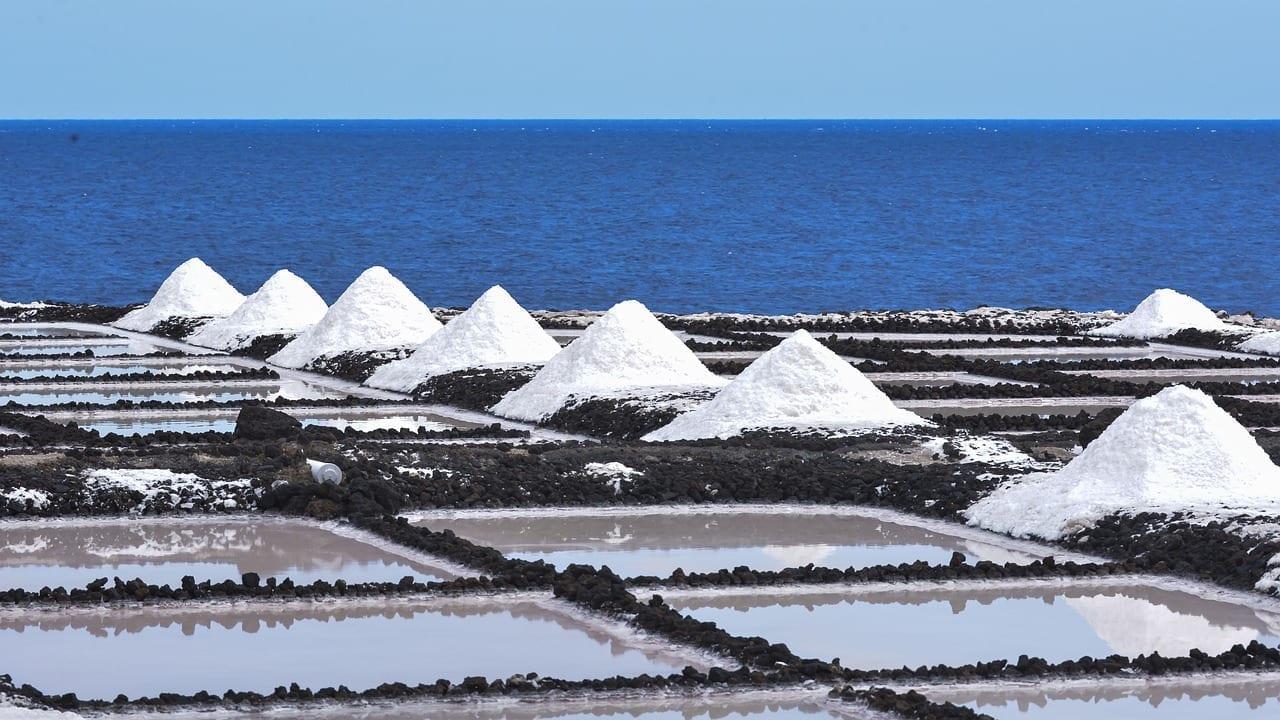 Fuencaliente De La Palma Sal Mar España