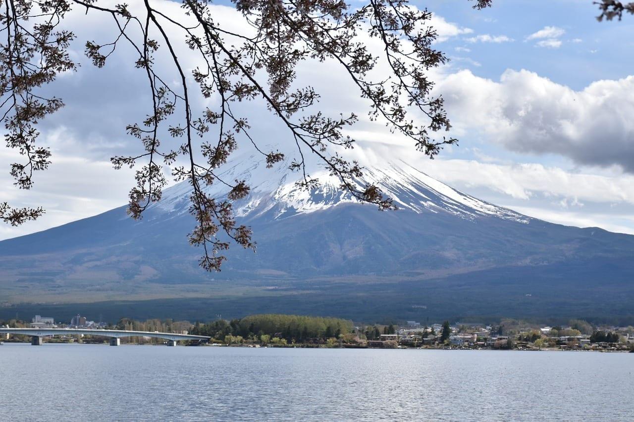 Fuji Kawaguchiko Montañas Japón