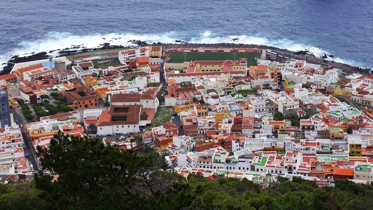 Garachico Tenerife Isla España