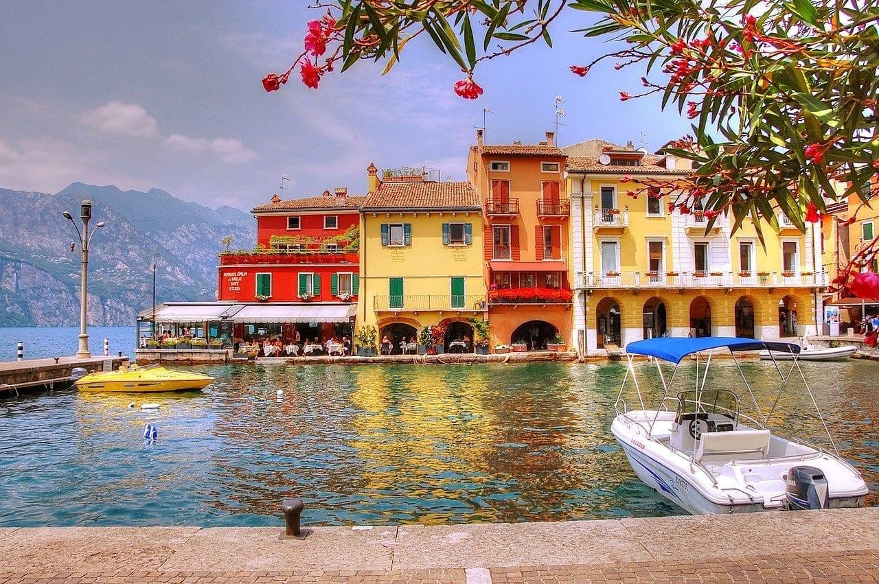 Garda Malcesine Italia Italia