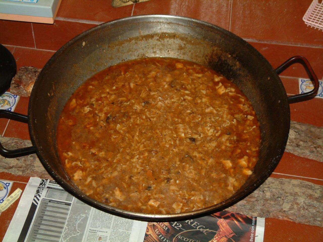 Gazpacho manchego a la Requena Requena España