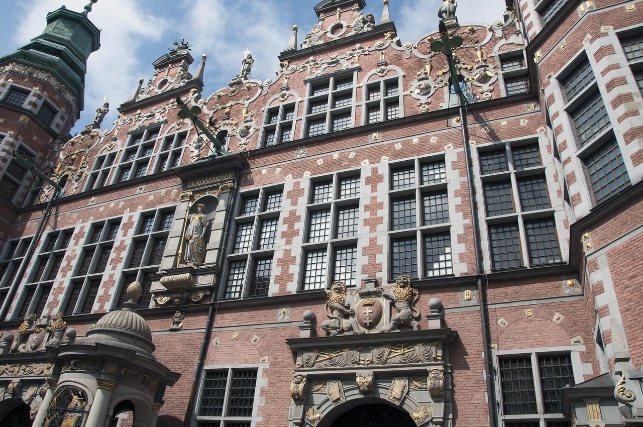 Gdańsk El Casco Antiguo Armería México