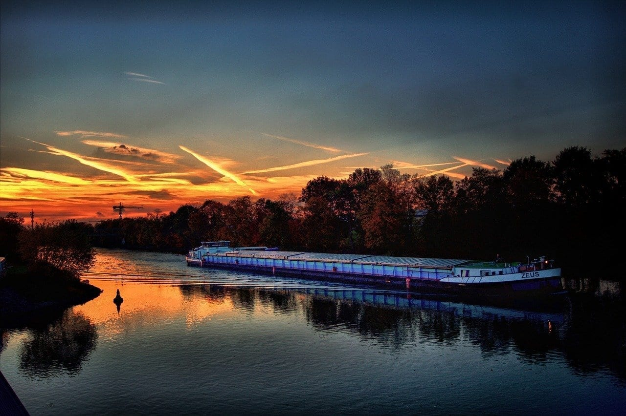 Gelsenkirchen Puerto Bismark Rin Herne Canal Alemania