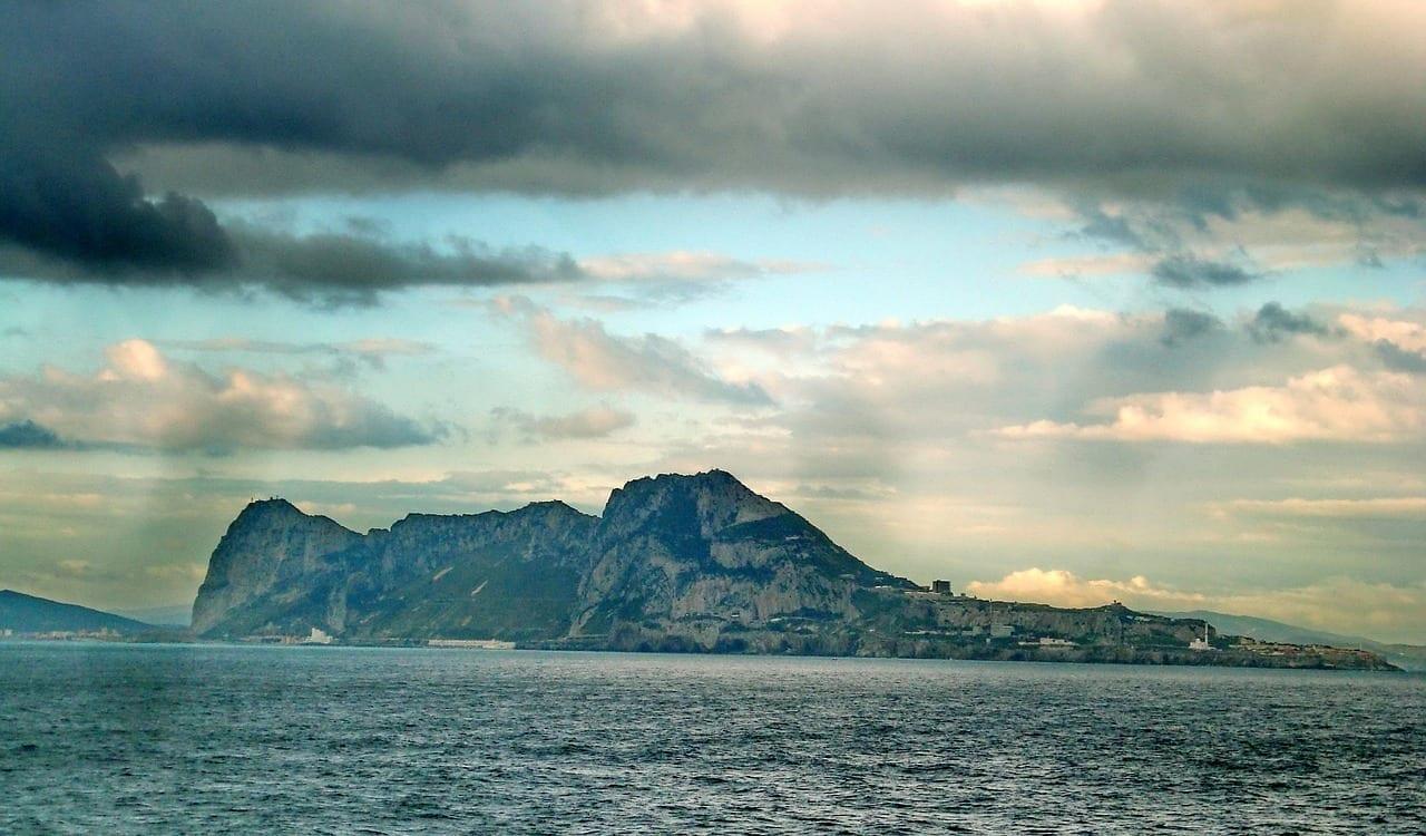 Gibraltar Estrecho Montañas España