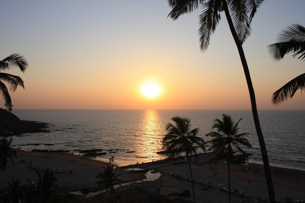 Goa India Playa India