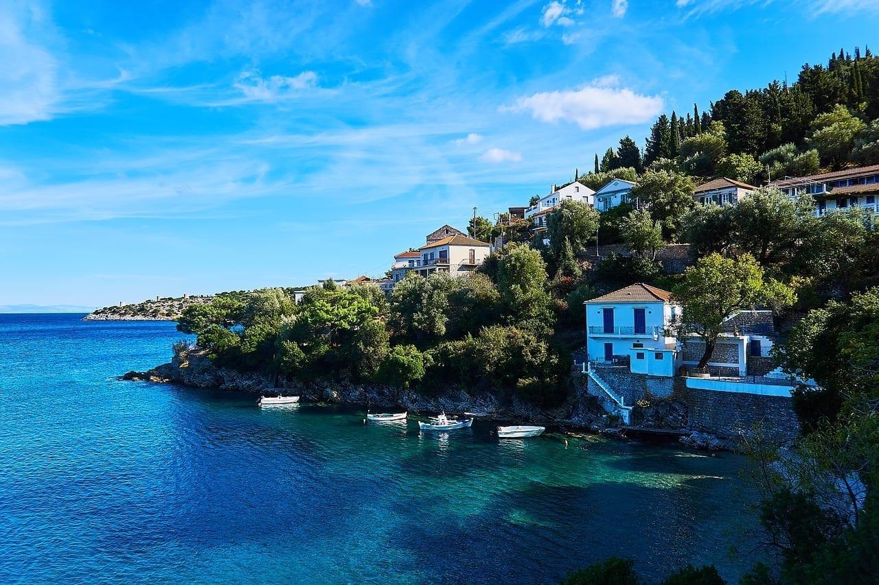 Grecia Ithaca Isla Grecia