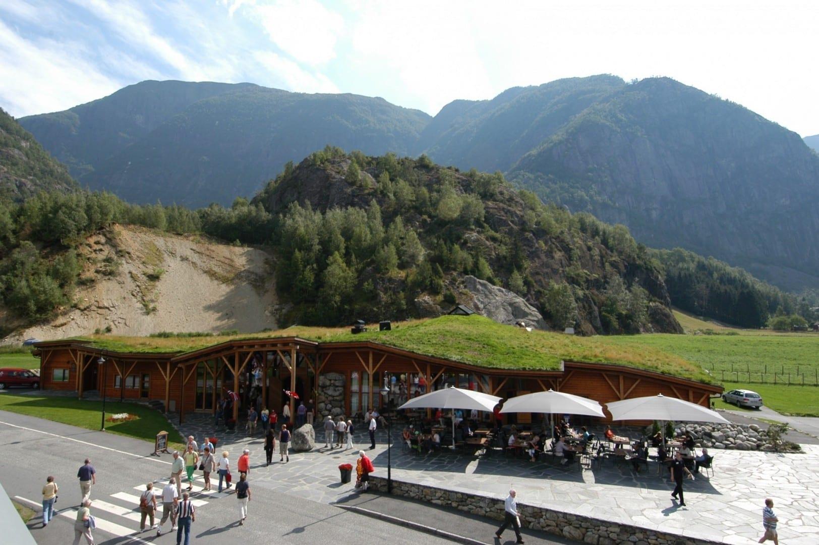 Hardangerviddahallen Restaurante y Café Eidfjord Noruega