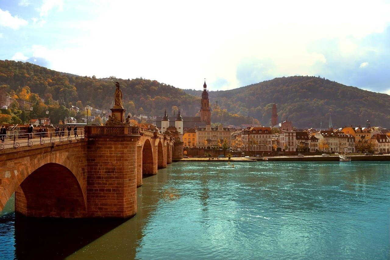 Heidelberg Puente Paisaje República de Sudáfrica
