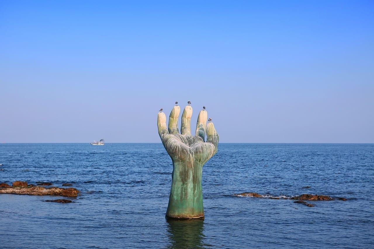Homigot Ulsan Escultura Corea del Sur