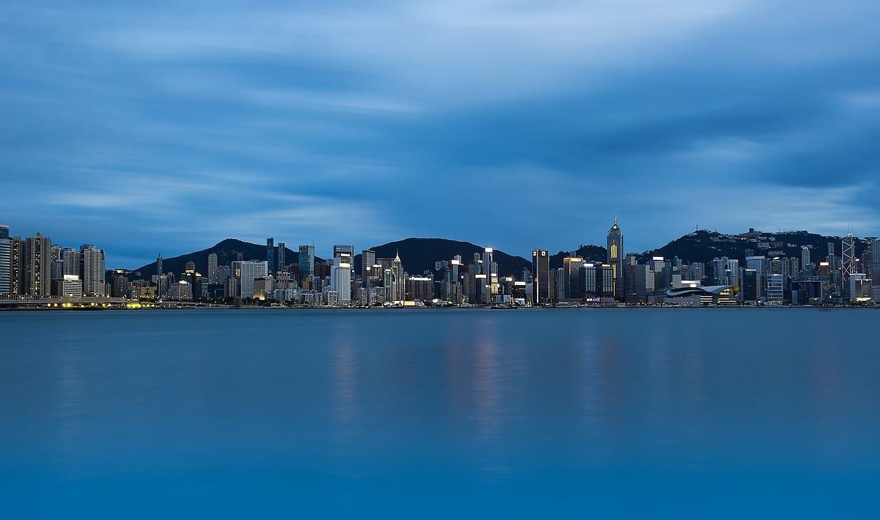 Hong Kong Kowloon Victoria Harbour Hong Kong